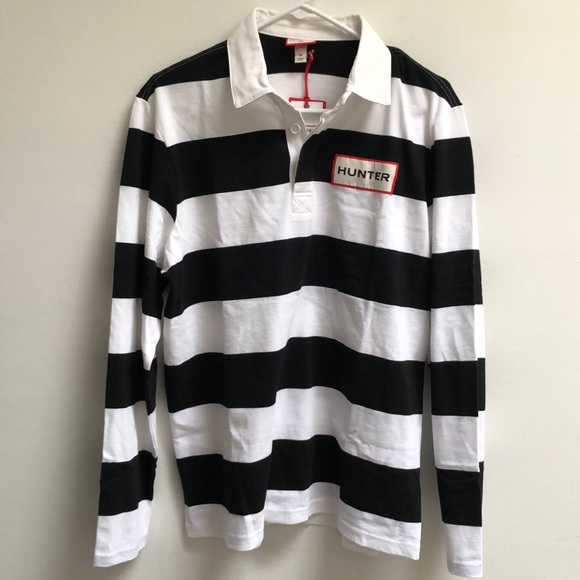 8e3a6430ab9 Hunter Shirts | For Target Striped Rugby Szm | Poshmark